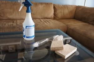 Химчистка обивки мебели